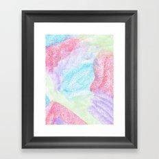 Chalking Around Framed Art Print