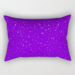 Speckles II: Purple Rectangular Pillow