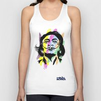 salvador dali Tank Tops featuring Salvador Dali by Art of Fernie
