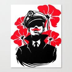 Oh capitán! Canvas Print