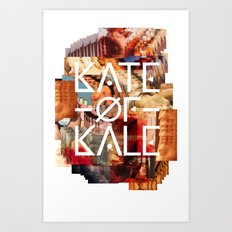Kate of Kale's Slut Avenue Art Print
