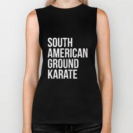 BJJ Brazilian Jiu Jitsu South American Ground Karate T-Shirt Biker Tank