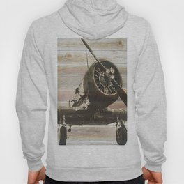 Old airplane 2 Hoody