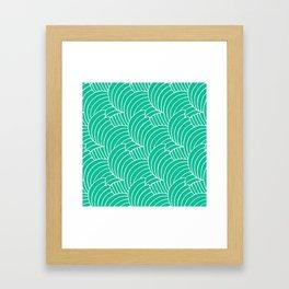 "Koloman (Kolo) Moser ""Textile pattern (Bogen)"" (4) Framed Art Print"