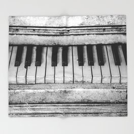 The piano Throw Blanket