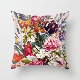 Exotic Garden - Summer Throw Pillow