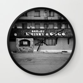 Bar Whisky & Gogo Wall Clock