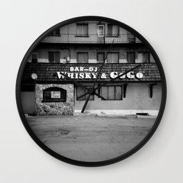 Bar Whisky & Gogo Wall Clock