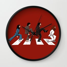 English walker Wall Clock