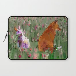 The hare and the fox Laptop Sleeve