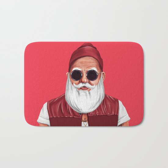 Hipstory -  Santa Claus Bath Mat