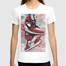 Air Jordan 1 High Off White  T-shirt