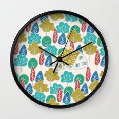 Happy Hermit Wall Clock