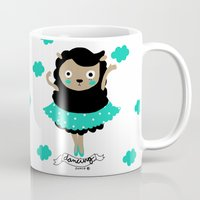dancing Mugs featuring Dancing by Sucoco
