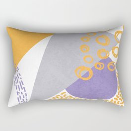 Triangles and sprinkles Rectangular Pillow