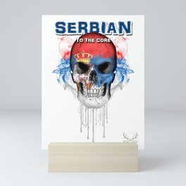 To The Core Collection: Serbia Mini Art Print
