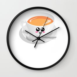 Sip Me Baby One More Time Funny Tea Pun Wall Clock