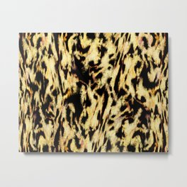 Animals passing by Metal Print