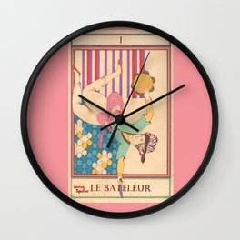 Tarot Card-The Juggler-Le Bateleur Wall Clock