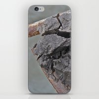 cracked iPhone & iPod Skins featuring Cracked by Todd Langland