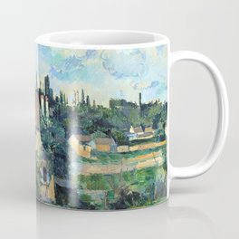 1881 - Paul Cezanne - Mill on the Couleuvre at Pontoise Coffee Mug