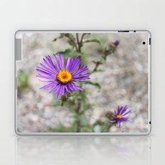 Purple Wild Flower Laptop & iPad Skin