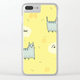 Why So Serious....Cat Clear iPhone Case