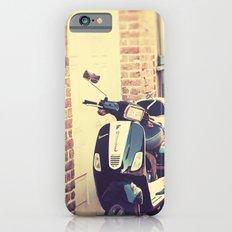 Black and White Vespa iPhone 6s Slim Case