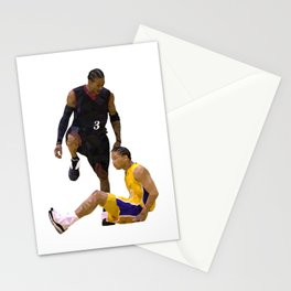 finals nba 2001 Stationery Cards