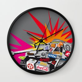 popwar Wall Clock