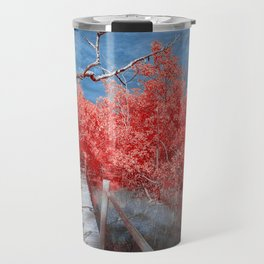 Pier Thru Woods Travel Mug