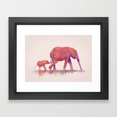 Colors to Life Framed Art Print