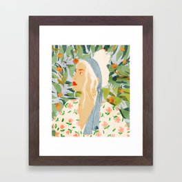 Meera Framed Art Print