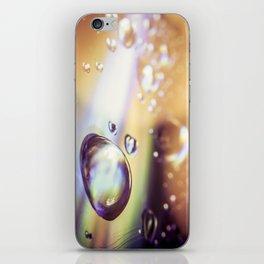 psyco drop iPhone Skin