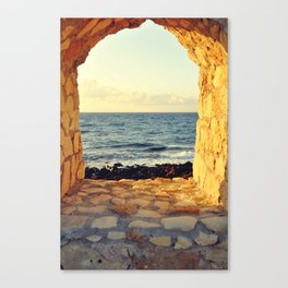 Sea Through Canvas Print