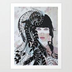 Love & Darkness Art Print