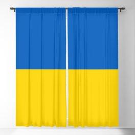 Flag of Ukraine Blackout Curtain