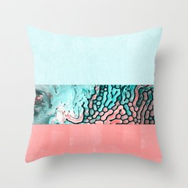 Liquified Throw Pillow