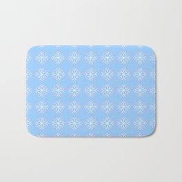 snowflake 6 For Christmas ! Bath Mat