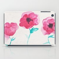 asian iPad Cases featuring Asian Poppies by DuckyB