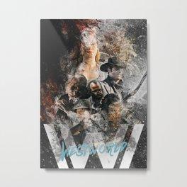 Westworld Metal Print