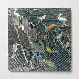 Bird Town Metal Print