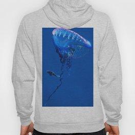 Fish and friend jellyfish Man O´War Hoody