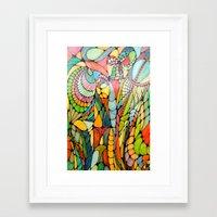 wizard Framed Art Prints featuring Wizard by Alamogordo