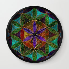 The Flower of Life (Sacred Geometry) 2 Wall Clock