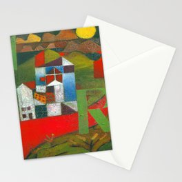 Paul Klee Villa R Stationery Cards