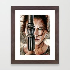 Rey FAN ART  Framed Art Print
