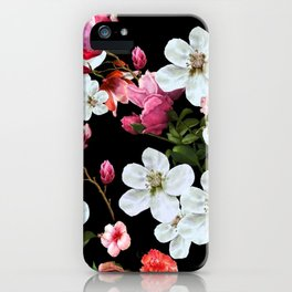 Apple Blossom at Midnight iPhone Case