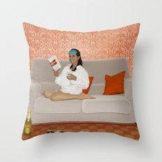 Holly, Breakfast at Tiffany's Throw Pillow