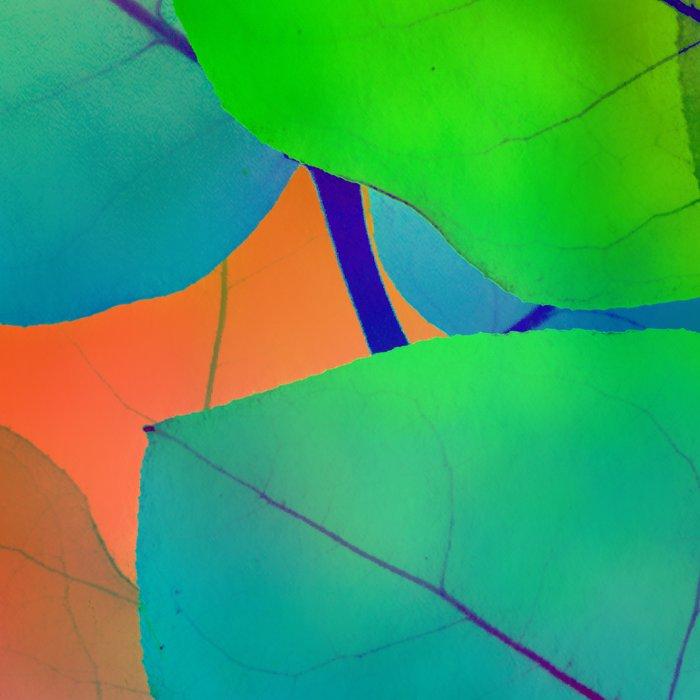 Translucent Leaves Leggings